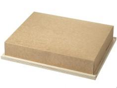 Tapa de cartón para bandeja...