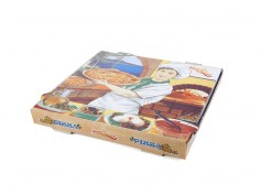Caja pizza 260x260x35 mm
