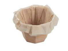 Bol de Madera con papel...