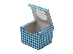 Caja cup cakes 1 unidad con...