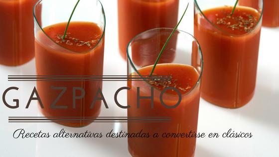 gazpacho, dos recetas destinadas a convertirse en clásicos
