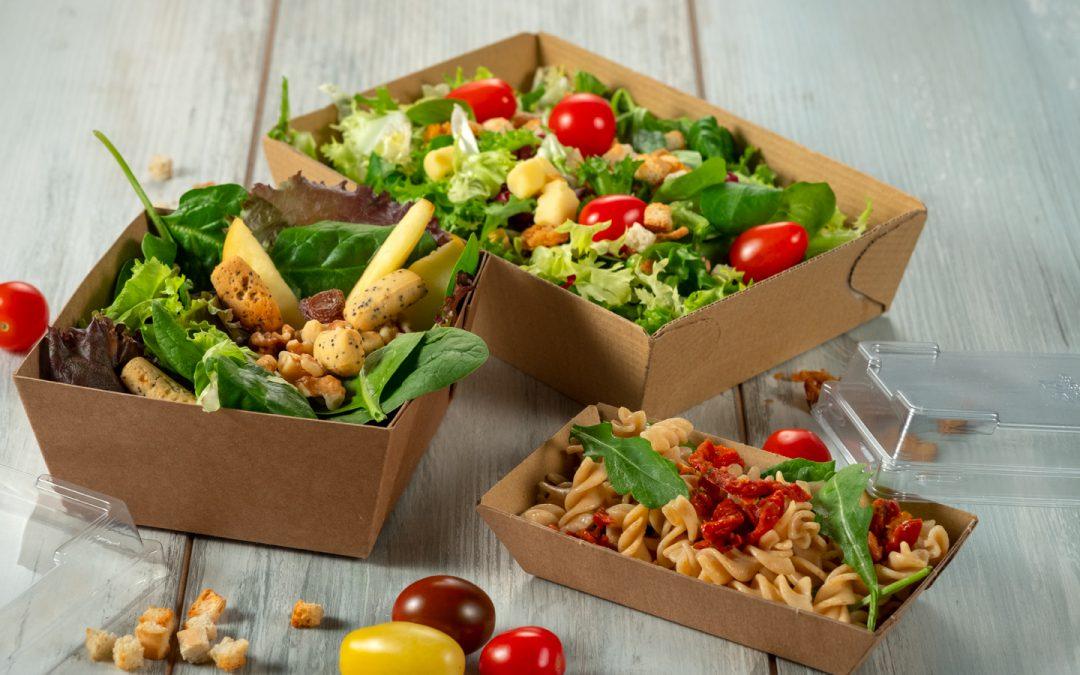 Bandejas de cartón para delivery la revolución de la comida para llevar!