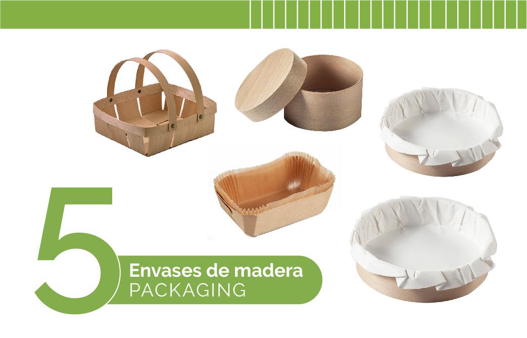 Cinco envases de madera que son tendencia en el mundo del packaging
